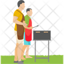 Friends Picnic Icon