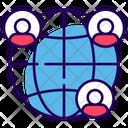 Friends Worldwide Icon