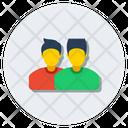 Partner Friends Buddies Icon