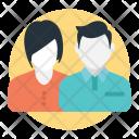 Friendship Courtship Couple Icon