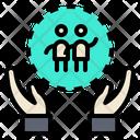 Friendship Comradeship Amity Icon