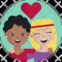 Friendship Women Girls Icon