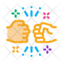 Friendship Bump Icon