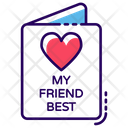 Friendship Card Icon