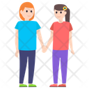 Friendship Character Sister Love Siblings Icon