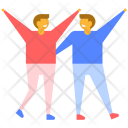 Friendship Happiness Icon