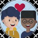 Friendship Romantic Relationship Icon