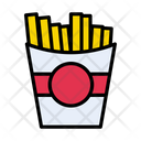 Fries Chips Snack Icon