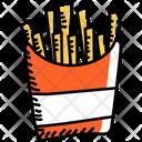Finger Fries Fries Potato Fries Icon