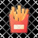 Fries Takeaway Takeout Icon