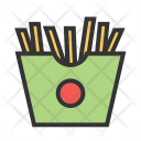 Fries Fastfood Food Icon