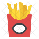 Fries Potatoes Box Icon