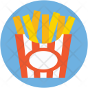 French Fries Potato Icon