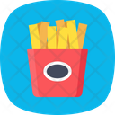 Fries Pack Icon