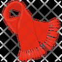Fringe Scarf Icon