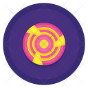 Frisbee Flying Disc Disk Icon