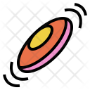 Frisbee Play Recreation Icon