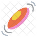 Frisbee Play Recreation Icon
