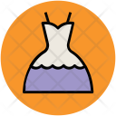 Frock Party Gown Icon