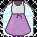 Frock Woman Dress Blouse Icon