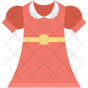 Frock Girl Clothing Icon
