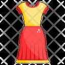 Dress Fashion Boutique Frock Icon