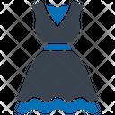 Frock Fashion Design Jumper Dress Icon