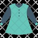 Frock Girl Dress Icon