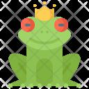 Frog Princess Crown Icon