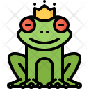 Frog Princess Crown Icon