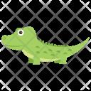 Alligator Crocodile Reptile Icon