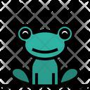 Frog Rainy Amphibian Icon