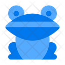 Frog Animal Experiment Icon