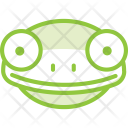 Frog Face Animal Icon