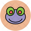 Frog Toad Face Icon