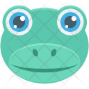 Frog Sea Water Icon