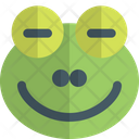 Frog Closed Eyes Icon