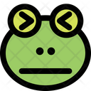 Frog Confounded Icon