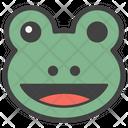 Frog Emoji Emoticon Emotion Icon