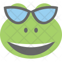Frog Emoji Smiley Icon