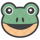 Frog Face Frog Smiley Emoji Icon