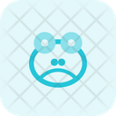 Frog Frowning Icon