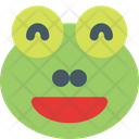 Frog Grinning Icon