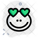 Frog Heart Eyes Icon