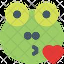 Frog Kiss Icon
