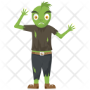 Frog Like Zombie Icon