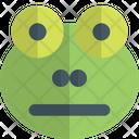 Frog Neutral Animal Wildlife Icon
