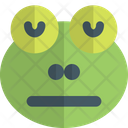 Frog Neutral Closed Eyes Icon