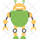 Frog Robot Icon