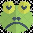 Frog Sad Animal Wildlife Icon